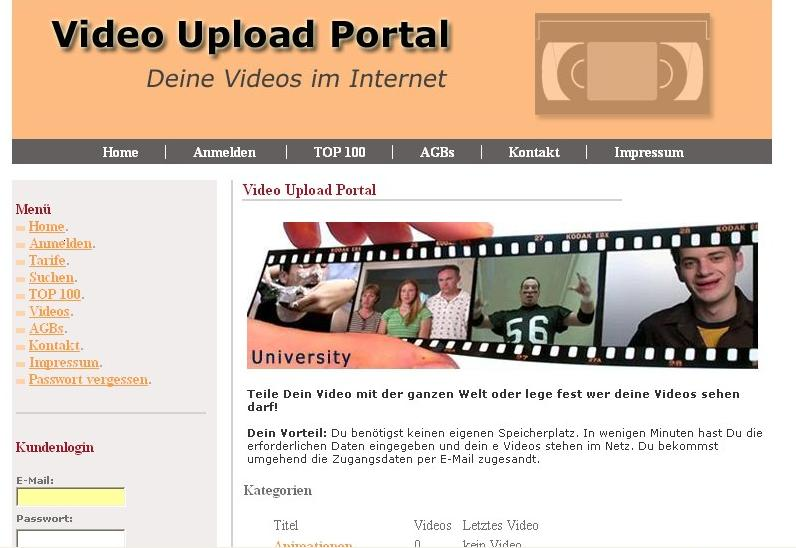 Video Community Portal PHP Script