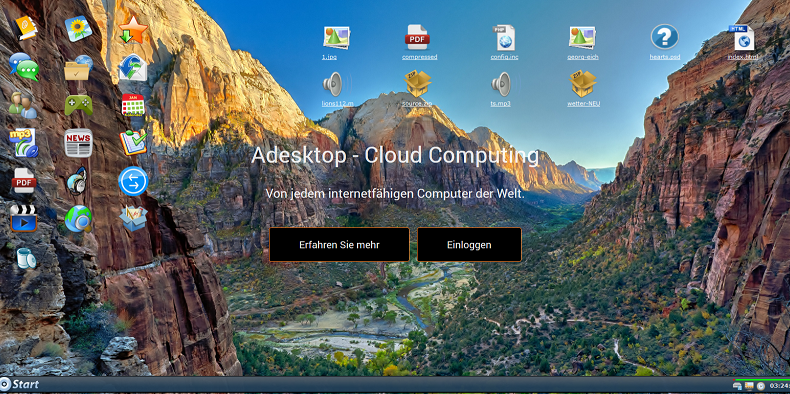 Online Desktop Cloud Computing Pro Version