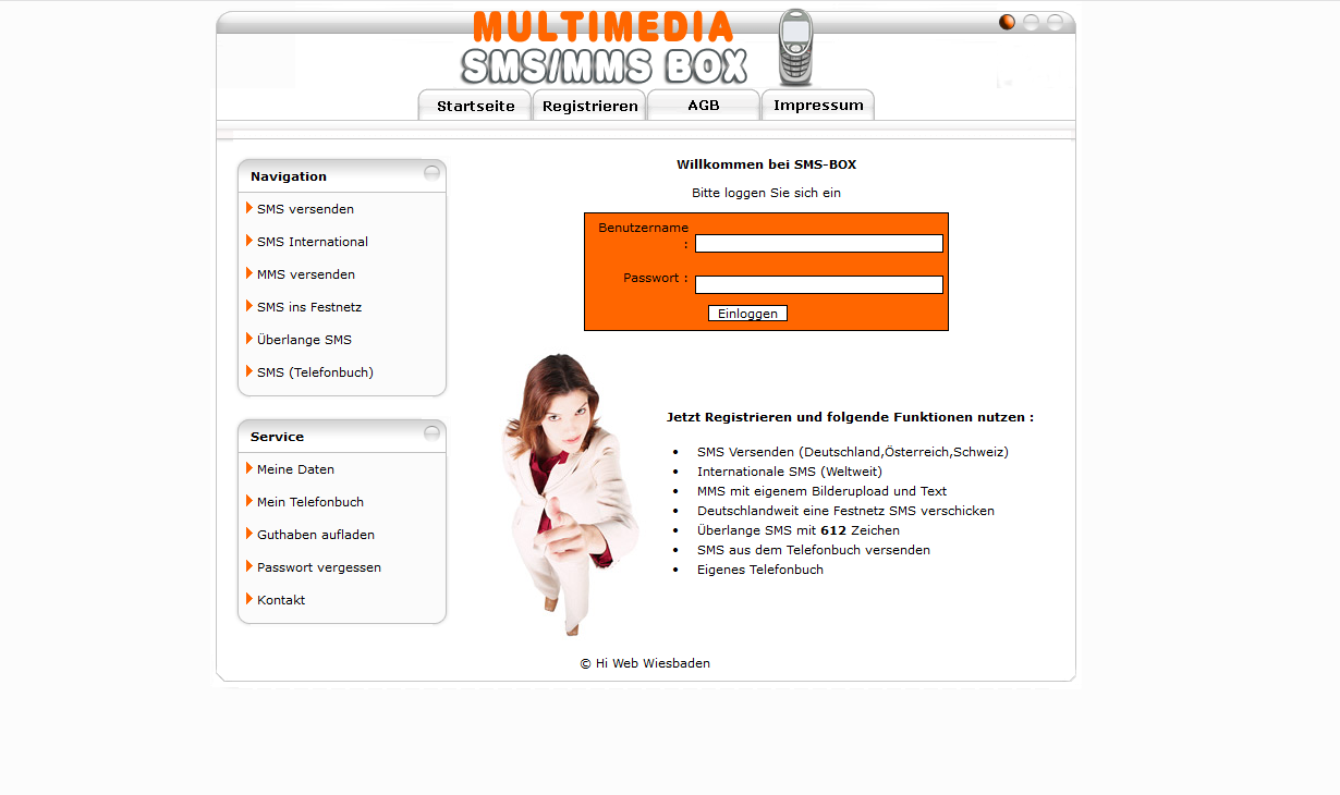 Multimedia SMS/MMS System